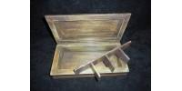 Coffre à bijoux en bois