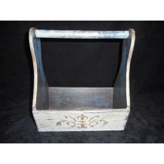 coffret de rangement en bois avec poign e finition de type ancestrale pi ces unique. Black Bedroom Furniture Sets. Home Design Ideas