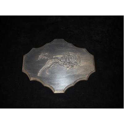Plaque décorative en bois